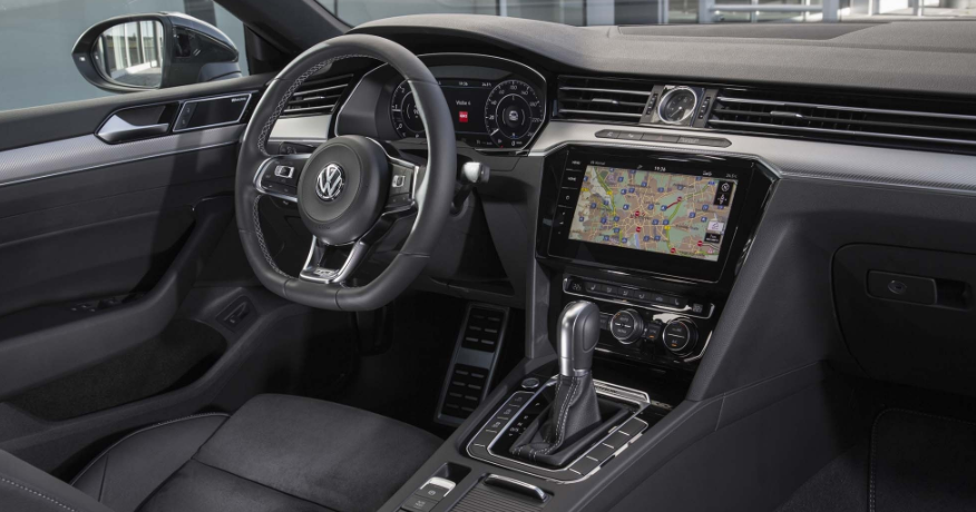 2019 VW CC Interior
