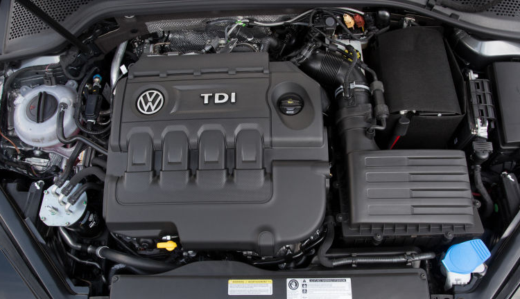 2020 VW Passat Engine
