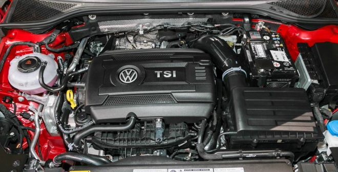 VW Fox 2019 Engine