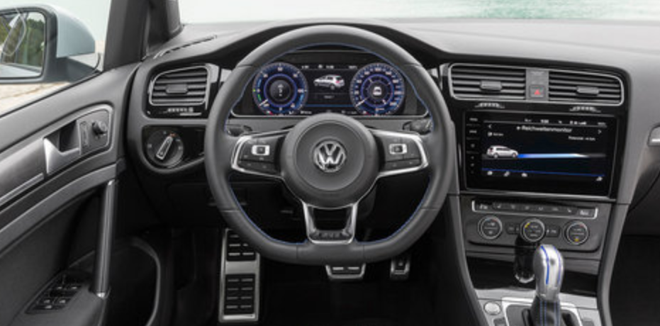 VW Golf 8 2021 Interior