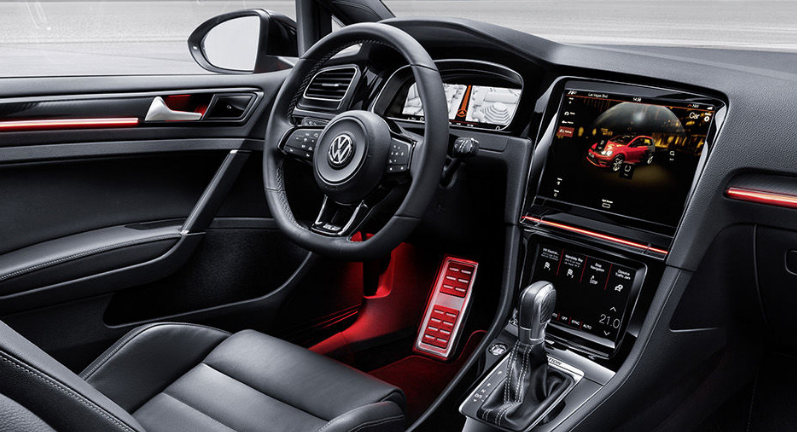 2021 Volkswagen Golf GTI Interior