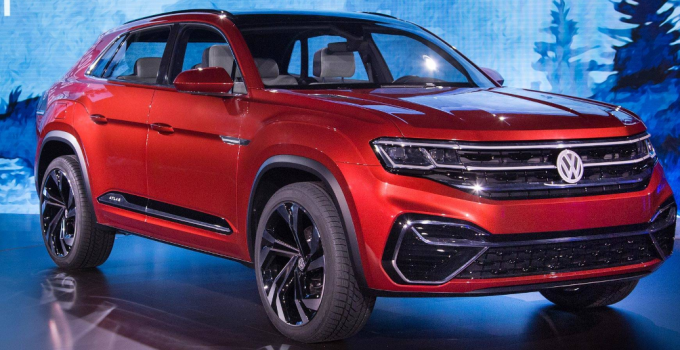 2020 VW Atlas Coupe Redesign Rumors Exterior