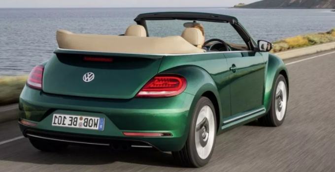 2020 Volkswagen Beetle Convertible Changes Exterior