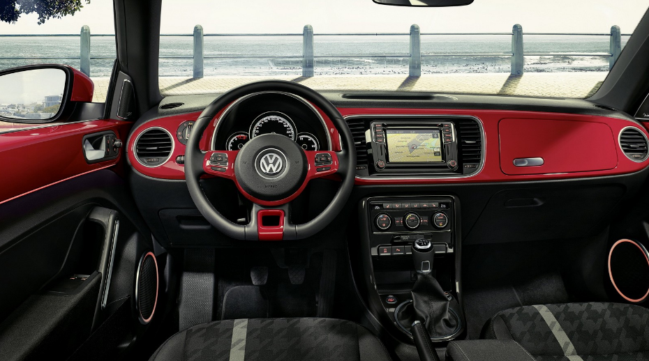 2020 Volkswagen Beetle Convertible Interior