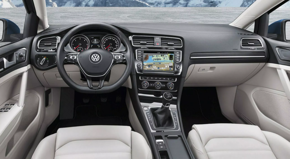 2020 Volkswagen Golf Sportwagen Wagon Redesign Interior