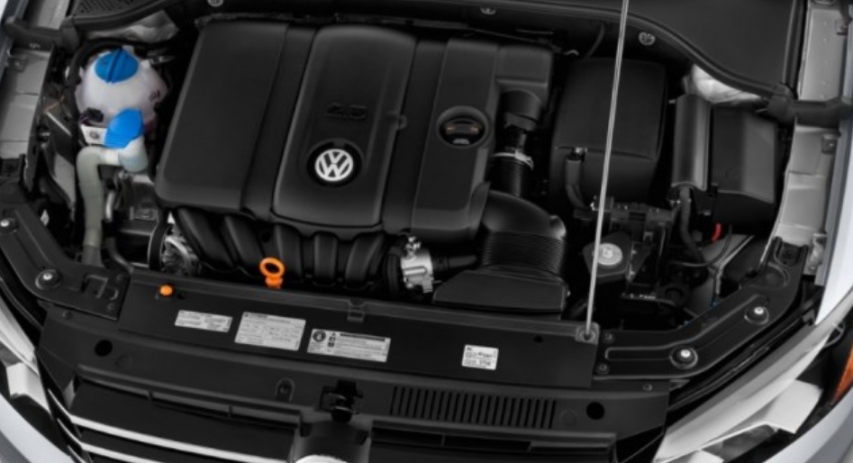 2020 Volkswagen Tiguan Sel Performance Engine