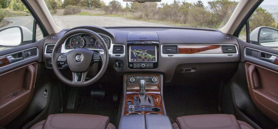 2020 Volkswagen Touareg Towing Capacity Interior