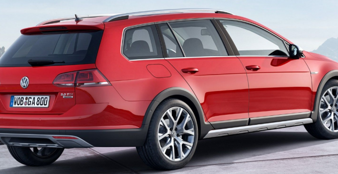 2020 VW Golf Sportwagen Facelift Exterior