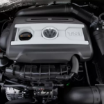 2020 Volkswagen Passat 2.0t R-line Sedan Engine